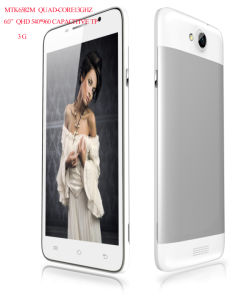 Excelente 6 telemóvel inteligente com a Mtk para 3G