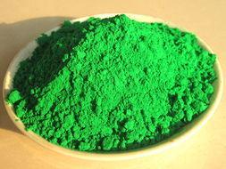 Rang van het Pigment van het Poeder van het Oxyde van het Ijzer van de marktprijs de Groene
