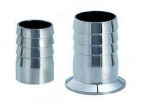 Accoppiamento di tubo flessibile sanitario del capezzolo del tubo flessibile dell'accessorio per tubi dell'acciaio inossidabile