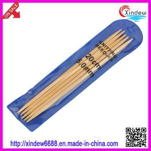 Pontos em dobro o bambu agulhas de tricô (XDBK-002)