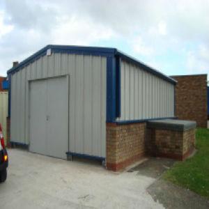 Edificio de estructura de acero prefabricados para aplicaciones industriales