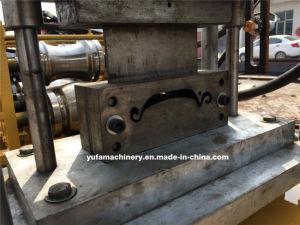 Coupe hydraulique en acier galvanisé rolling shutter prix d'usine machine à profiler de lamelles de porte