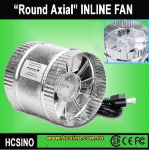 China Hidroponía recto de 6 pulgadas de jardín Ventilador reversible de acero galvanizado/ventilador auxiliar/ Ventilador de conducto en línea