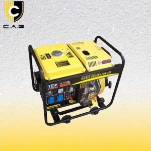 3kw 디젤 엔진 휴대용 발전기 (TP3500DG/E)