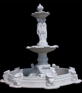Het Marmer van de fontein