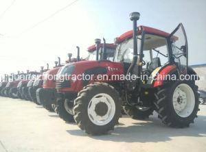 90-120HP, 4WD Fundo de Tratores Agrícolas Trator de Rodas