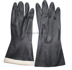 Nmsafety Química de neopreno negro Guante de Seguridad Industrial ... 3aaebb0e301