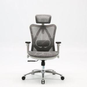 Workwell proveedor profesional de mobiliario de oficina ejecutiva de malla completa de juegos de oficina Silla ergonómica de malla con apoyacabezas
