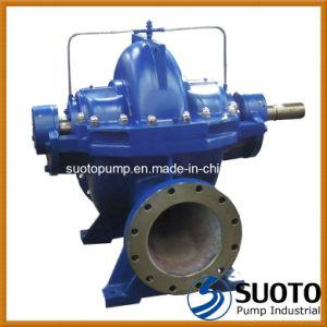 Phase unique horizontal Double boîtier de fractionnement d'aspiration (CAS) de la pompe, pompe centrifuge, pompe à eau, pompe haut débit, pompe à volute, pompe de lutte contre les incendies