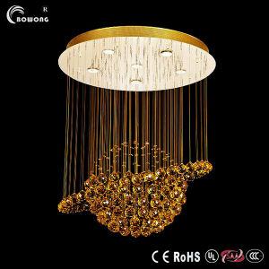 2014 New Style Golden Ball LED hängendes Kristalllicht
