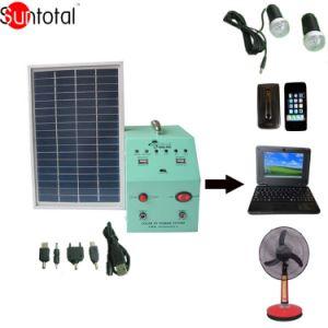 Sistema di illuminazione domestico solare 80W (STS080)