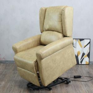 Aumento de sillón reclinable silla elevador eléctrico automático de ancianos presidente