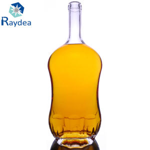 フリントガラスの昇進1.5 Lウィスキーのガラスビン