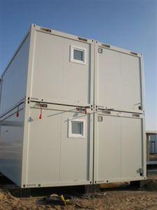 Flaches Pack Container für Mining Camp