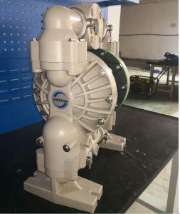 2 de PP de plástico da bomba de diafragma duplo operada por ar