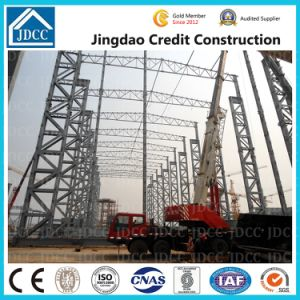 La conception de la structure en acier préfabriqués Entrepôt