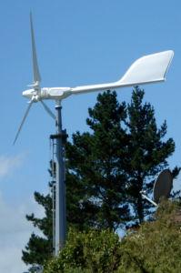 Ah-2kw éolienne de petite puissance haute efficacité pour le projet de grille hors tension