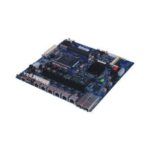 인텔 B75 칩셋 6 근거리 통신망 의 2개의 SFP 방화벽 어미판 통신망 안전 Mainboard