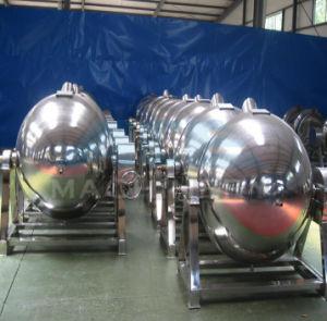 caldaia rivestita di cottura rivestita del riscaldamento elettrico della caldaia dell'olio 500L (ACE-JCG-LT)
