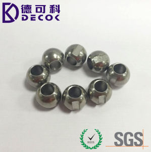 304 1mm 3mm 8mm 12.7mm Drilled Hole Solid Edelstahl Ball mit einem Drilled Hole