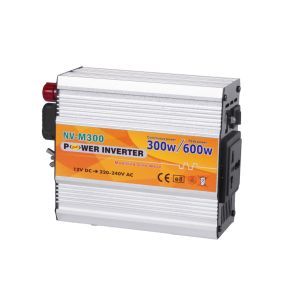 Coche de 300W Inversor de potencia 12V a 220V