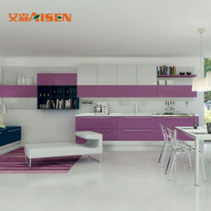 Armadio da cucina della lacca di standard europeo di E. - piccolo