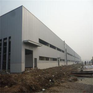 La luz de almacén de prefabricados de estructura de acero de construcción con paneles sándwich PU