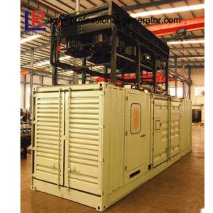 1000kw de gecombineerde Krachtcentrale van het Gas van de Container van de Systemen van de Hitte & van de Macht