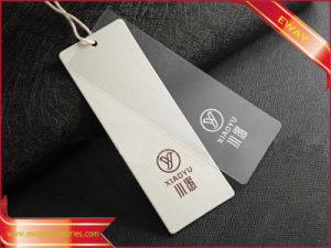 PVC Hang Tag Garment Tag Plastic Tag per Clothing