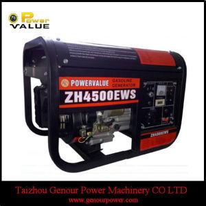 Big Battery Frame (ZH4500EWS)를 가진 가솔린 Generator Square Frame