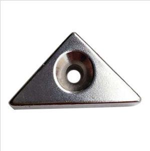 Треугольник NdFeB магнит с отверстием в центре