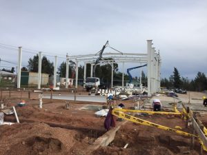 Prefabricated 강철 구조물 창고 세륨 ISO BV SGS (SS-11)