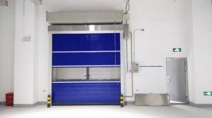 Portelli veloci veloci ad alta velocità isolati termici automatici della saracinesca della stanza del congelatore per il magazzino frigorifero