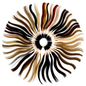 Uitbreidingen van het Haar van het Haar Vrigin 50g 20PCS van de Huid van de Kleur Balayage van het Haar van Remy van de Band van de Uitbreidingen Pu van het menselijke Haar de Volledige Hoofd2# Weft