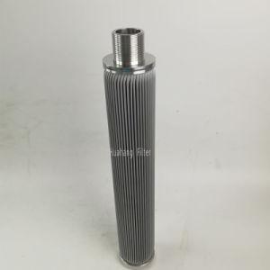 SS derreter elemento filtrante do filtro de óleo com ligação de rosca