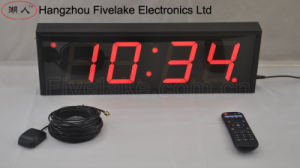 4  à 4 chiffres Horloge murale numérique DEL Timer (FDC-404)