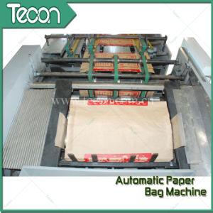 Control digital de alta la maquina para fabricar bolsas de papel