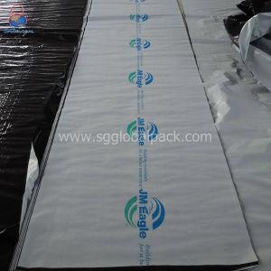 A China por grosso de Branco/Preto tecidos PE Lumber enrole em rolos