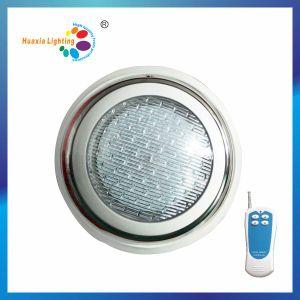 Indicatore luminoso subacqueo della piscina LED degli ss con il regolatore