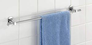Legering van het zink verchroomde de Ovale Staaf van de Handdoek van de Vorm Enige