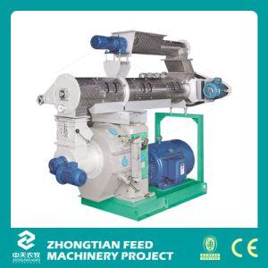 Certificado CE Power-Saving 1-4 Ton por hora peletizadora de madera