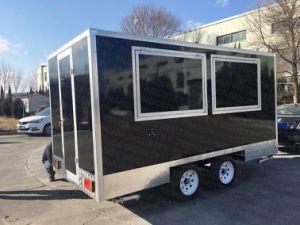 Chariot mobile Restaurant Cuisine Mobile Van pour la vente des aliments
