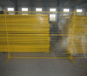 캐나다 PVC 분말에 의하여 입히는 용접된 철 철망사 임시 담 위원회