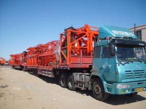 SGS 8t China Company Hsjj Tapa Plana Precio de la grúa pluma