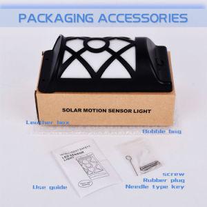 配線IP65は炎の明滅の太陽壁ライトを防水しない