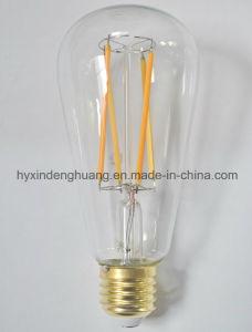 LEDのフィラメントランプSt64 4W E27/B22