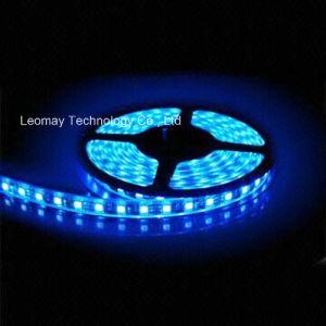 indicatore luminoso di striscia impermeabile blu impermeabile del gel SMD3528 LED del silicone di 2.4W/M