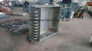 Tipo manuale del certificato Rcde-12 di ISO/Ce cheRaffredda il separatore del ferro di Electromagneti per il nastro trasportatore (larghezza della cinghia di 1200mm)