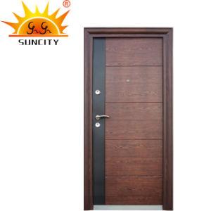 A porta principal de aço de alta qualidade a porta de segurança
