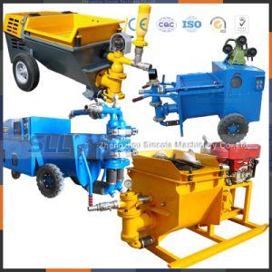 Largement utilisé dans de nombreux endroits de la machine de pompage de mortier de ciment